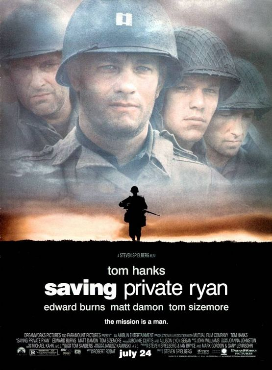 Why Saving Private Ryan´s Movie Poster is so Convincing or ...